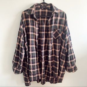 Anna Grace Oversized Flannel